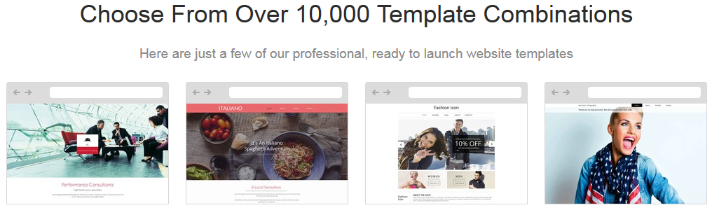 Samples of Free Templates
