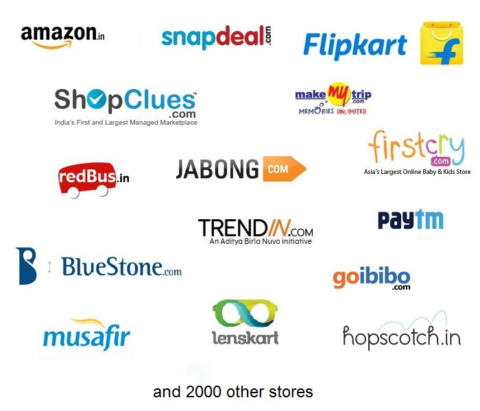 Feeds for major indian affiliates store