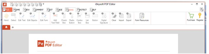 How to fill PDF form using PDF Editor