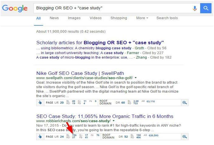 SEO case-studies