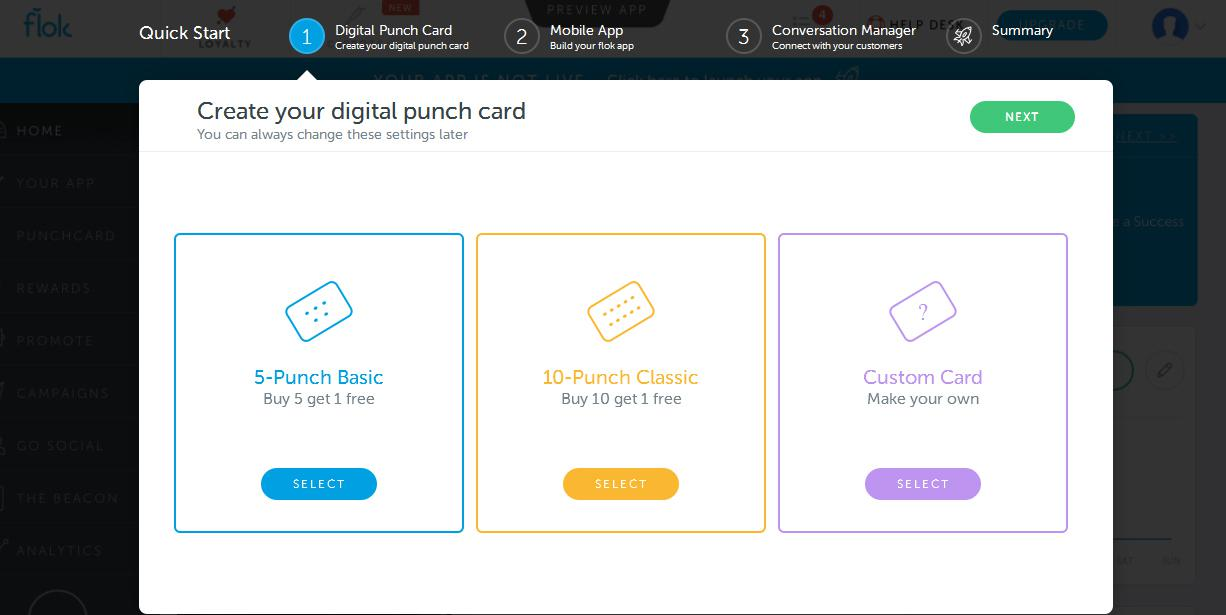 Digital Punch Card