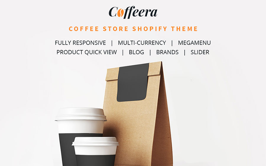 Coffee Shop Responsive Shopify Theme